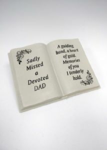 DAD MEMORIAL BOOK DF17449D
